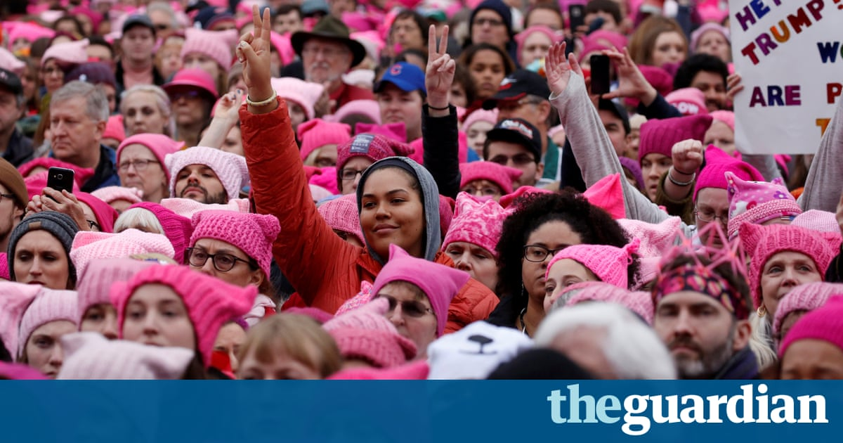 'This is just the beginning': women who marched against Trump vow to fight on
