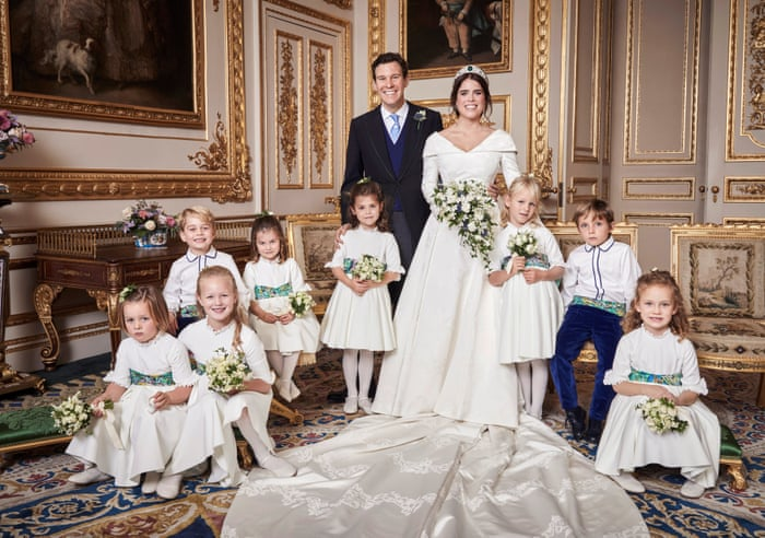 Princess Eugenie Official Wedding Photographs In Pictures News