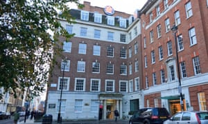 Part of Soho history ... the 20th Century Fox Film building, Soho Square, London, pictured in 2011.