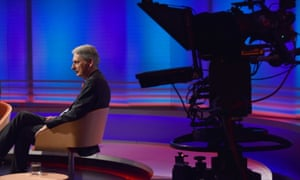Philip Hammond on the set of the Andrew Marr Show