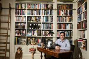 Jared Cohen, CEO of Jigsaw, in his Upper West Side apartment.