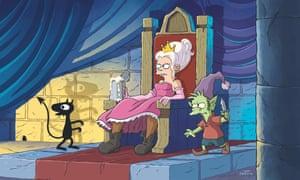 A still from Matt Groening's Disenchantment