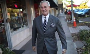 Roger Stone, a sometime adviser to Trump, has said he expects Mueller to indict him in order to 'silence' him.