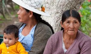 Women in Cochabamba, Bolivia
