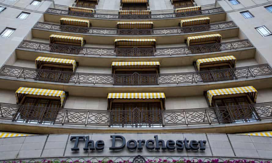 The Dorchester on Park Lane in London