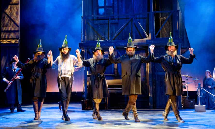 A scene from Fiddler On The Roof at the Mayflower