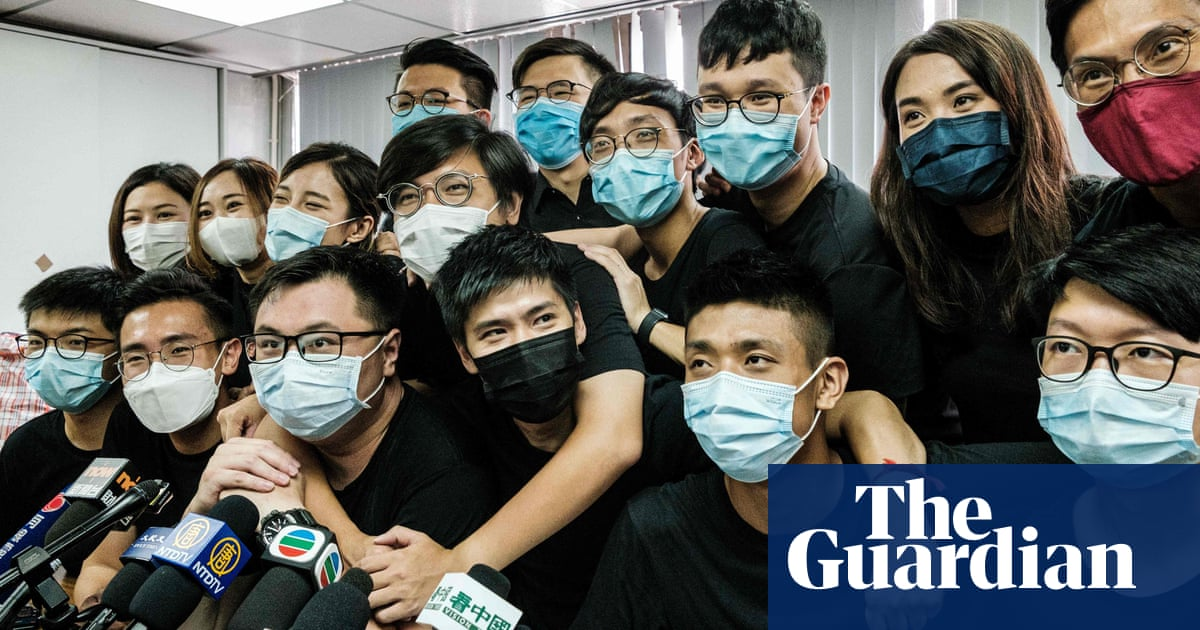 Dozens of Hong Kong pro-democracy figures arrested in sweeping crackdown – The Guardian