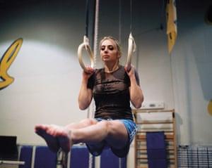 Swaney is also a member of the Cal Berkeley Gymnastics Club.