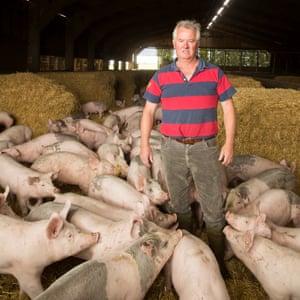 Pig Farmer David Owers