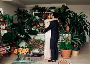 The home wedding altar