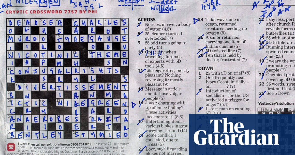 Crossword Blog What Next For The Independent Crossword Independent News Media The Guardian