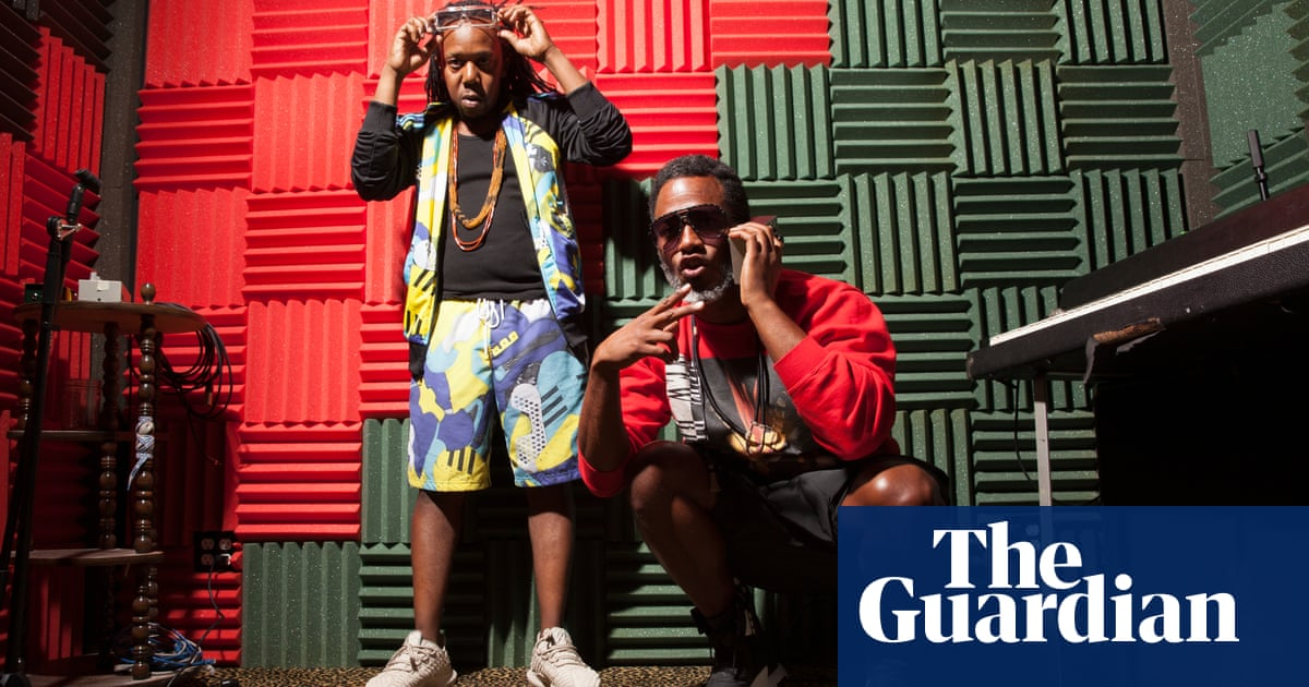 We feel like aliens': Shabazz Palaces, the hip-hop duo beamed in