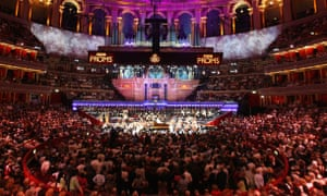 The Royal Albert Hall during the Proms