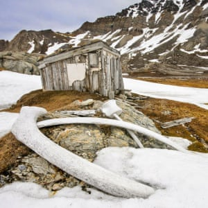 Shortlisted Whaler's Hut in Svalbard, Norway, by Chris Dobbs