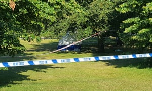 A police cordon has been set up in Hyde Park after a body was found.