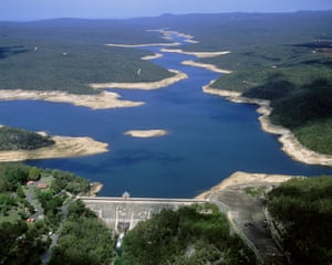 A view of Sydney's Avon dam