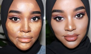 How to highlight and contour darker skin | Hani Sidow | Fashion ...