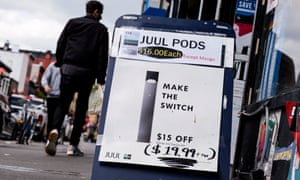 In congressional testimony, Juul admitted to marketing their product as 'much safer than cigarettes'.