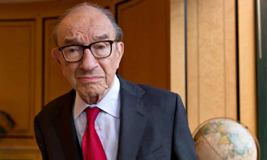 The ex-US Federal Reserve chairman, Alan Greenspan