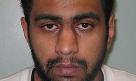 Police mugshot of Feezan Hameed