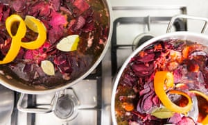 The Kitchen team like to play with colours: beetroot is a particular favourite