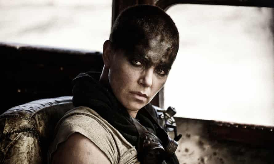 Charlize Theron, the prosthetic arm-enhanced heroine Imperator Furiosa