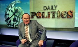 Andrew Neil, anchor presenter of Daily Politics on BBC.