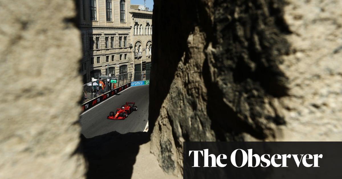 Charles Leclerc pips Lewis Hamilton to Azerbaijan pole in crash-strewn session