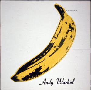 The Velvet Underground & Nico sleeve artwork by Andy Warhol.