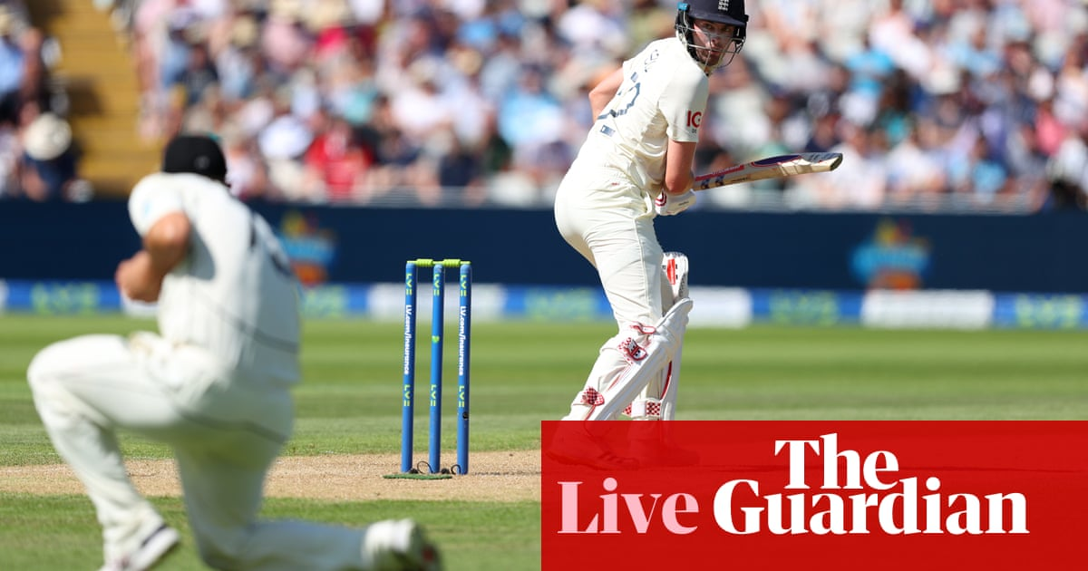 England v New Zealand: second Test, day three –live!