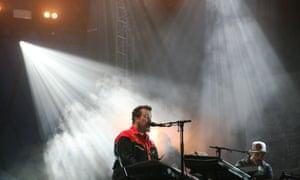 John Grant on the The John Peel stage at Glastonbury