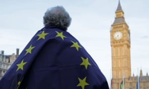 As protests take place in Westminster, civil servants are preparing for a huge range of possible outcomes from the Brexit process.