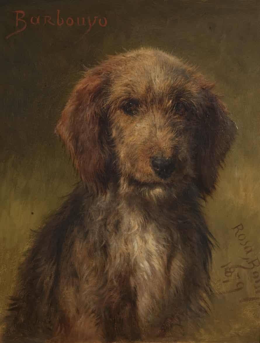 Barbouyo, 1879, H 48.8 x W 36.9 cm by Rosa Bonheur (1822–1899)
