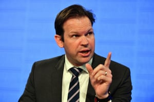 Minister for Resources Matt Canavan