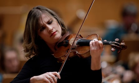 Exquisite finesse … Lisa Batiashvili, who played Szymanowski's First Violin Concerto.