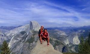 Views across Yosemite, while campervaning in California.