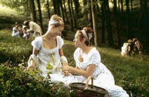 Gwyneth Paltrow and Toni Collette in Emma.