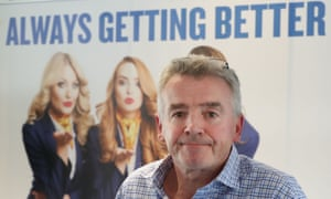 Changing his tune: Ryanair chief executive Michael O'Leary.