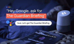 The Guardian Briefing google audio picture