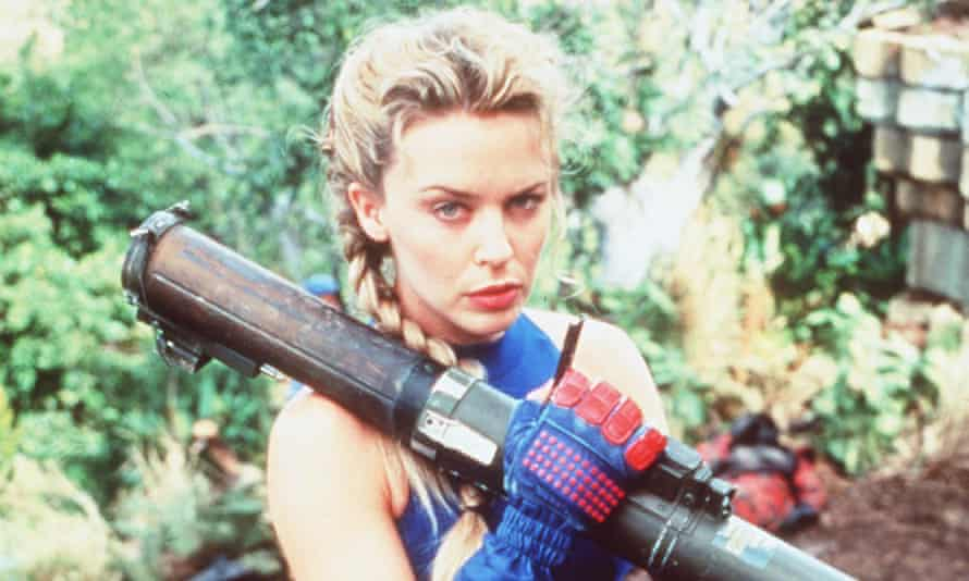 Director Steven de Souza saw Kylie Minogue on the cover of a magazine and cast her as Cammy.
