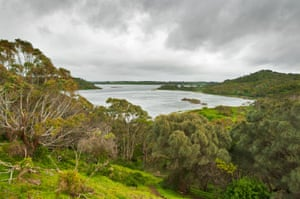 Tower Hill, an extinct volcano near Port Fairy