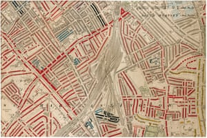 South Hornsey – see image above for colour key.