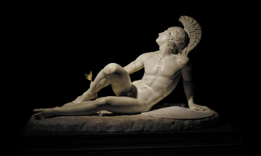 Fillippo Albacini's The Wounded Achilles, part of Troy: Myth and Reality at the British Museum.