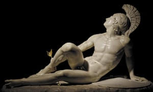 Heel boy … The Wounded Achilles by Fillippo Albacini, in Troy: Myth and Reality.