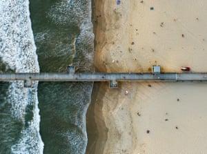 Venice Beach fishing pier, Los Angeles