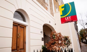 Foxtons estate agents boards Let sign in front of property