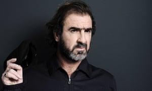 Eric Cantona, who has revealed he sings over breakfast.