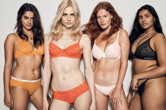 18961ade42 Transgender model Andreja Pejic in a Bonds lingerie campaign – is the  revolution here