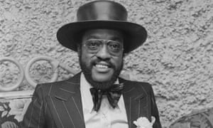 Billy Paul at a reception in London in 1973.