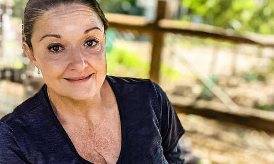 Wildlife rescuer Angela Christodoulou